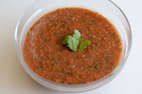 fresh salsa #recipe NoBiggie.net