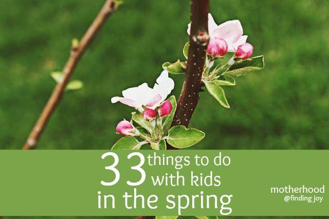 33 spring activities