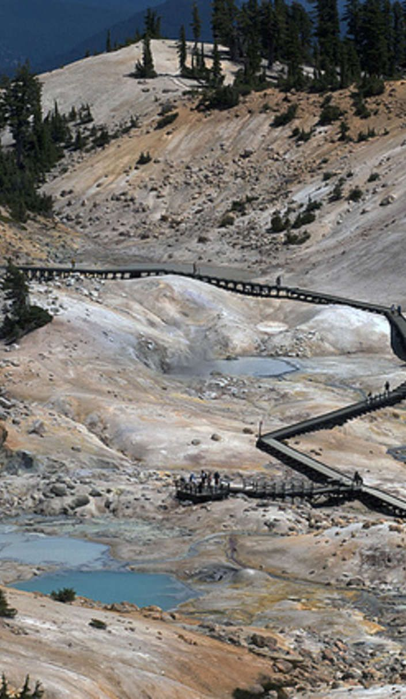 Lassen Volcanic National Park is a geothermal wonderland
