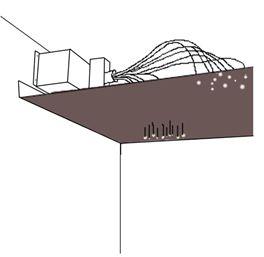 Lumière sur l'éclairage extérieur par fibre optique - Décoration : Idéesmaison.com