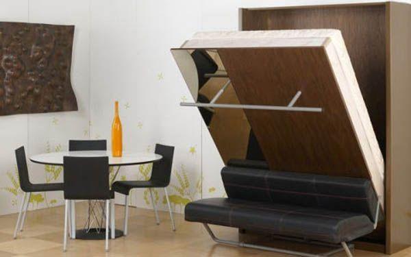 Раскладная мебель трансформер для маленьких квартир от мебельного ателье «Чистый лист».