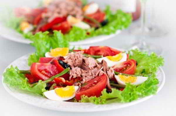 Salaty S Tuncom Recept 1 Chtoprigotovit.ru