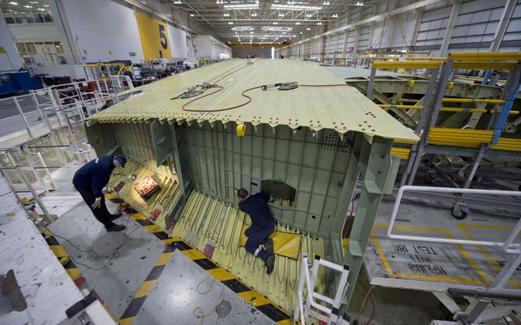Inside the Airbus A380 wing factory - Telegraph