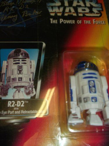 Star Wars The Power of the Force R2D2 Figure Autographed by Kenny Baker *** Want to know more, click on the image.