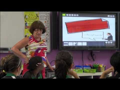 Ann Baker numeracy cycle - Strategy lesson - Year 6,7 class