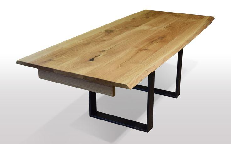 Tisch mit Baumknte Eiche - Breite 100cm / Länge wählbar Unsere ausziehbaren Esstische sind zum einen hohwertig verarbeitet, als auchaus nur ausgesuchten Hölzern (A Qualität) hergestellt. Wir legen großen Wert...