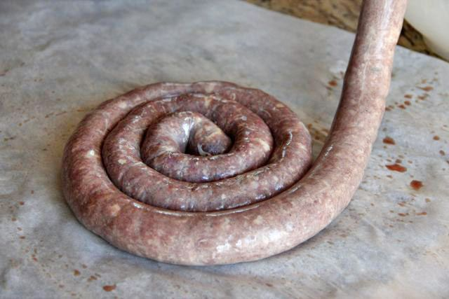 South African Boerewors (Farmer's Sausage)