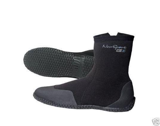 7mm neosport neoprene dive Boots WaterSports Scuba dive equip dredging gear fish #NeoSport
