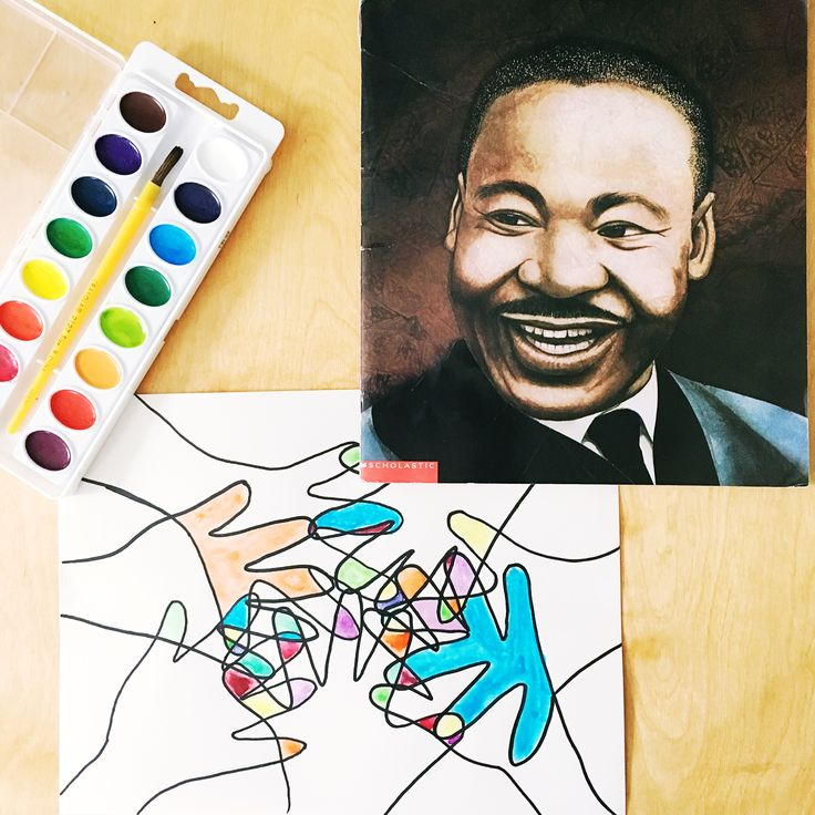 Art Projects to Celebrate Martin Luther King, Jr.