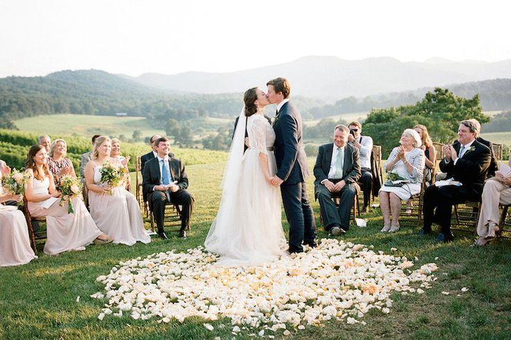 Wedding vows ceremony