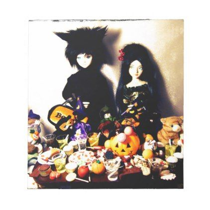 old halloween photo notepad - photos gifts image diy customize gift idea