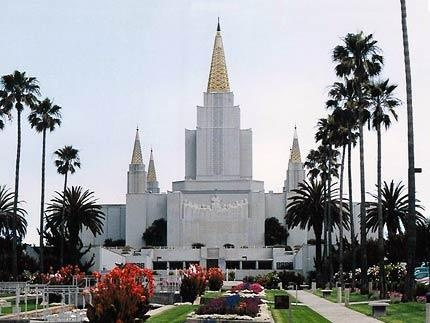 Another view of the Oakland Temple ~ Took out my Endowments there.