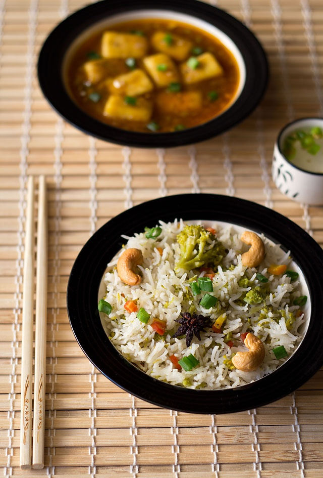 aromatic asian style veg pulao or veg pilaf #pulao #pilaf #ricerecipes ...