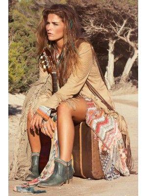 Koop Isla Ibiza Jacket Suede (uitverkocht)