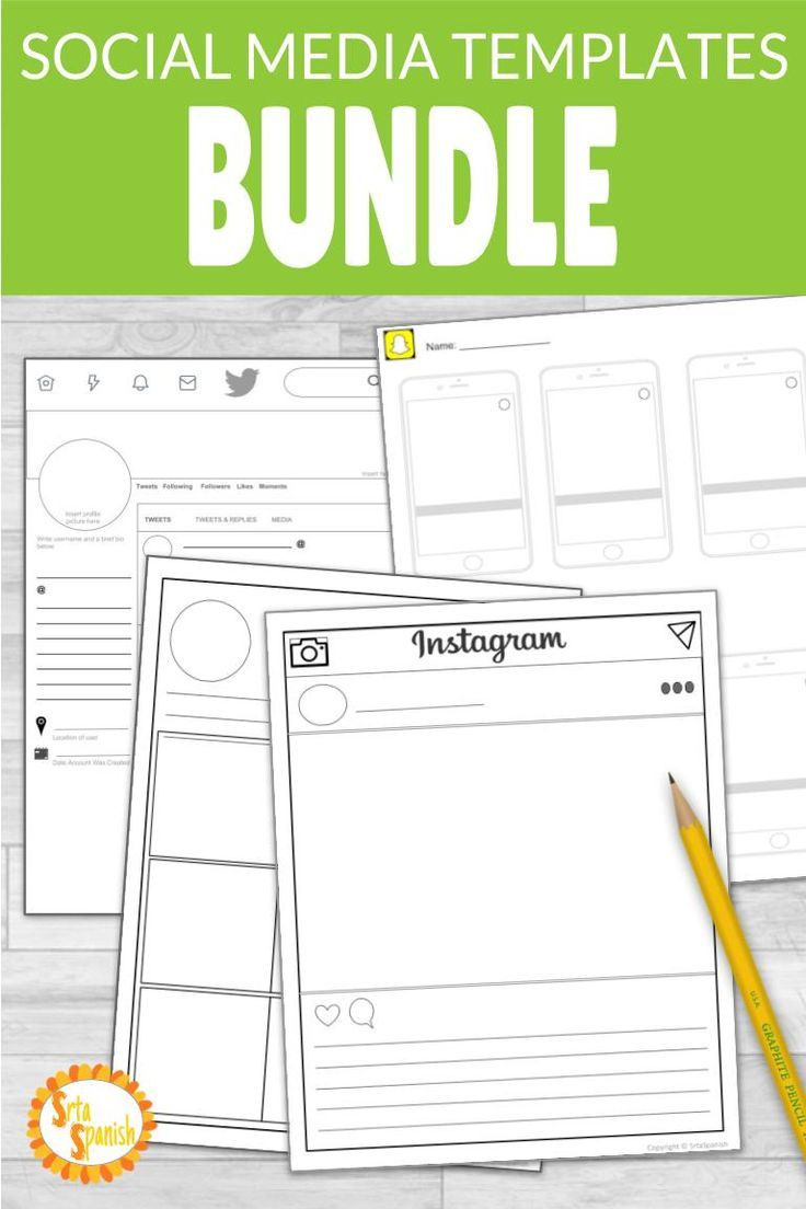 Check Out These Editable Templates Great For A Social Stus Biography Character Study