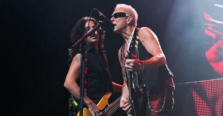 """Pawel Maciwoda & Rudolf Schenker """"Final Sting Tour 2012"""" São Paulo, Brazil (20/9/12)"""