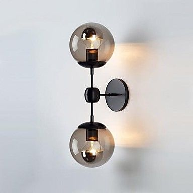 Wall light ideas - Wall Lamps , 2 Light , Modern Artistic Stainless Steel Plating MS-86415 – AUD $ 165.27
