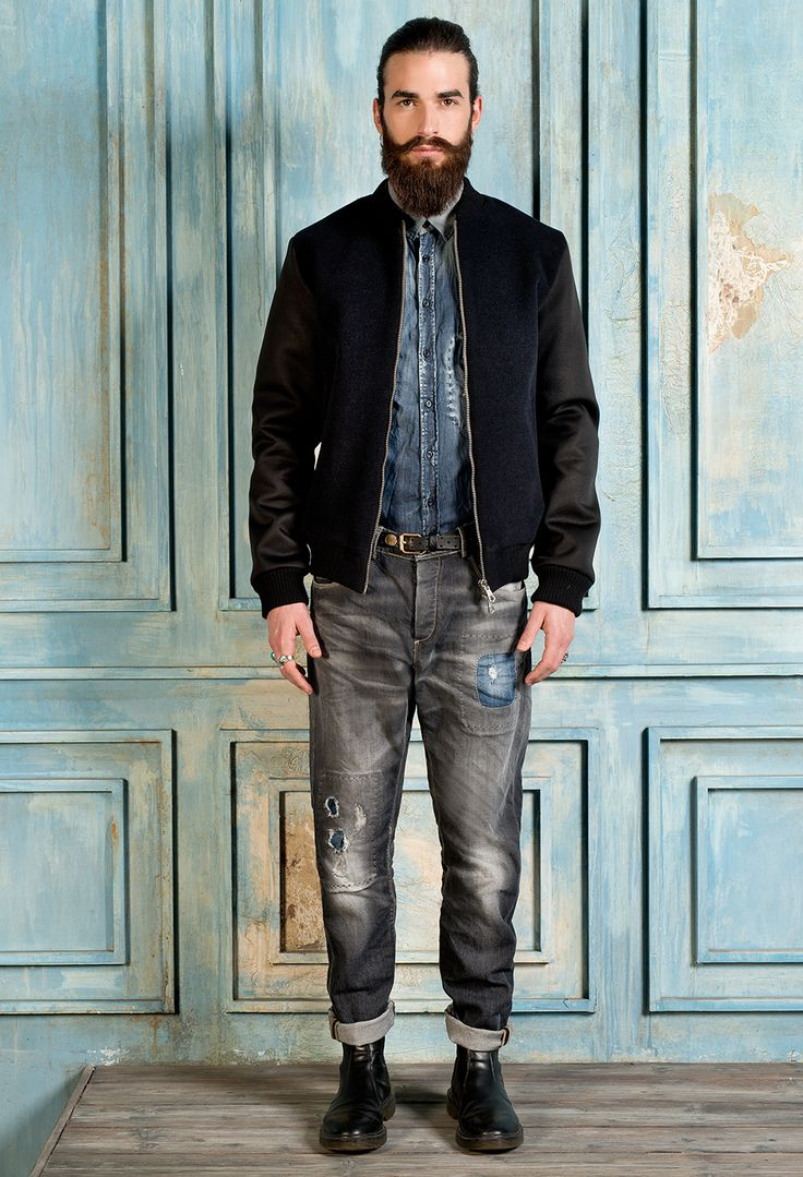 PMDS 11 outfit #fallwinter2015.16 #denim #jeans