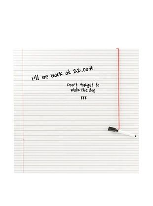 44% OFF Present Time Notebook Paper Write Board & Marker