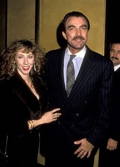 January 26, 1989 Tom  Selleck and Jillie Mack during 'Her Alibi' New York City Premiere at Sutton Theater in New York City, New York, United States.