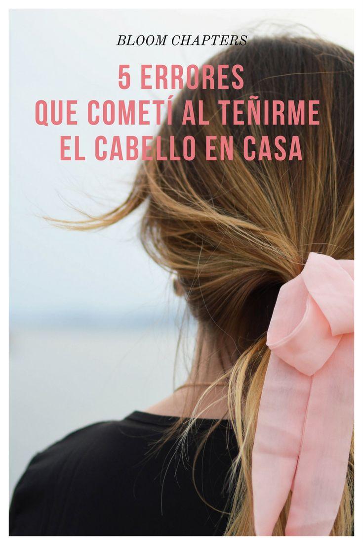 teñirse el pelo en casa | tips para pintarse el pelo | hair dye |pintarse el pelo |bloom chapters|5 tips para pintarse el pelo