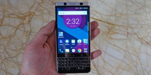 The latest BlackBerry phone brings back the physical keyboard ...