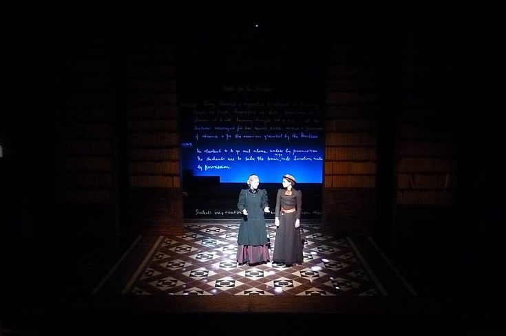 Blue Stockings: Philip Engleheart Theatre Design Set and Costume