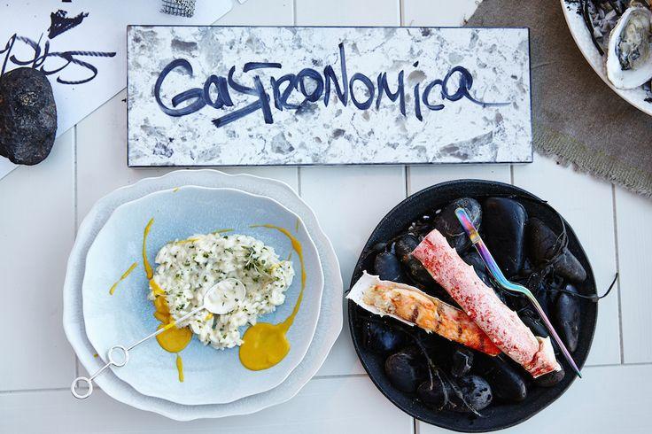 Краб и лимонное ризотто #crab #risotto #lemon #gastronomika #ginzaproject #art #food