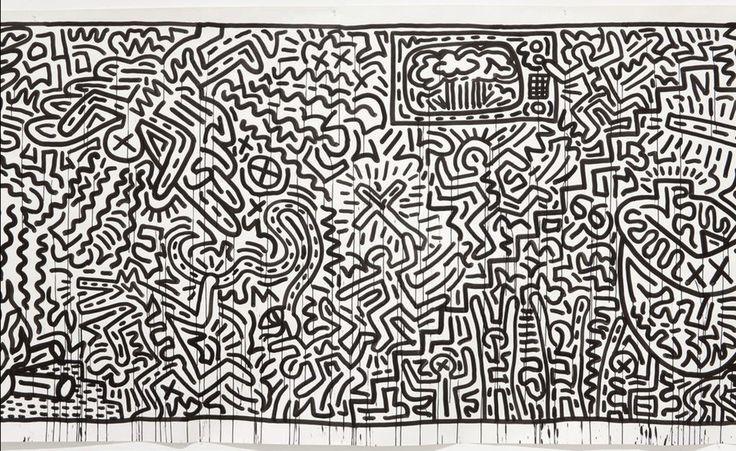«Без названия», Кит Харинг, 1982 г. / Нью-Йоркский музей современного искусства