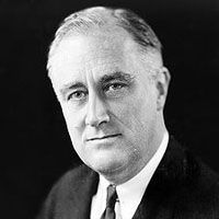 """PRESIDENT FRANKLIN D. ROOSEVELT signs the """"Neutrality Act"""", or Senate Joint Resolution No. 173, which he calls an """"expression of the desire...to avoid any action which might involve [the U.S.] in war."""" The signing came at a time when newly installed fascist governments in Europe were beginning to beat the drums of war. In a public statement that day, Roosevelt said  . . . . - -August 31, 1935  (SEE:  http://www.history.com/this-day-in-history/fdr-signs-neutrality-act.)"""