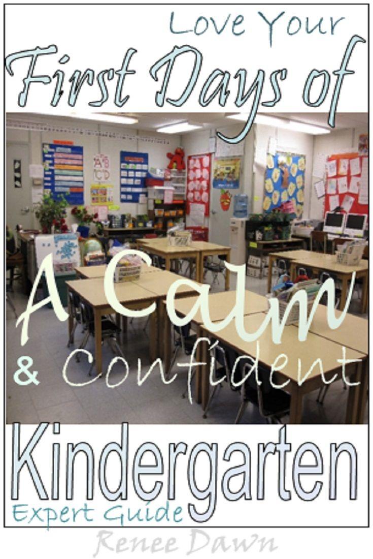 First Days Of Kindergarten Kindergarten Teacher S Bundle