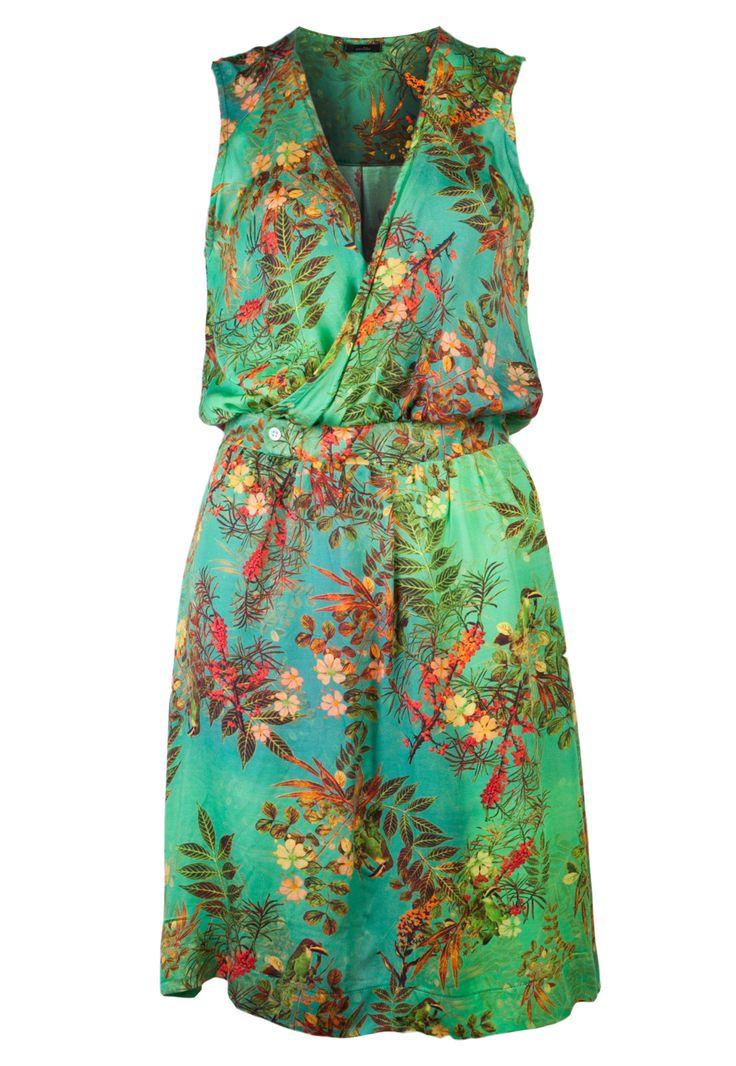 Vestido Cantão Curto Verde - Compre Agora | Dafiti Brasil