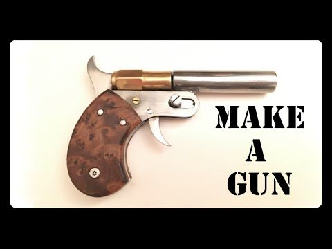 Tiny homemade .22 pistol - YouTube