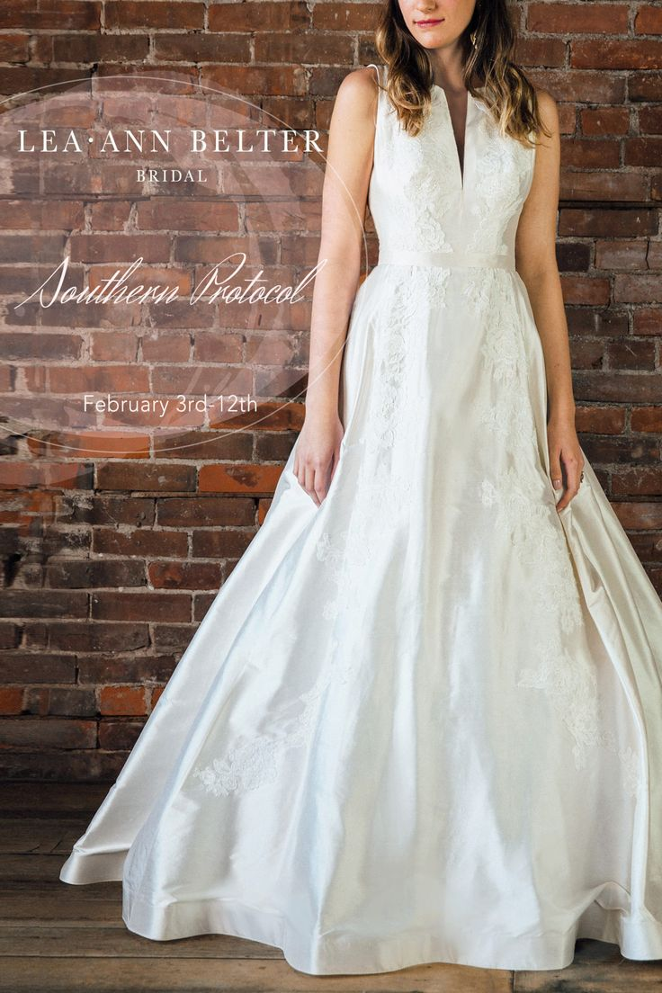 Lea-Ann Belter Bridal trunk show in Charleston, SC at Southern Protocol. Call 843-212-5160 to book your spot!