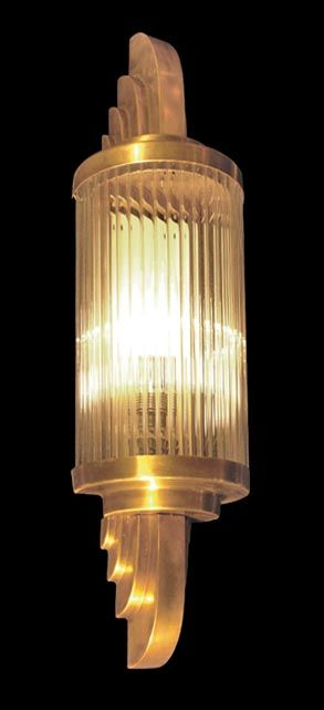Art Deco Wall Light Small