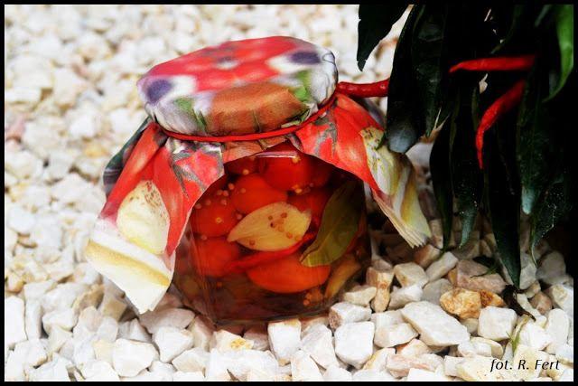 Apetyt na więcej - jadłodajnia dla duszy i ciała / Hungry for more - cafeteria for body and soul : PRZETWORY - Pomidorki koktajlowe z papryczką chili...