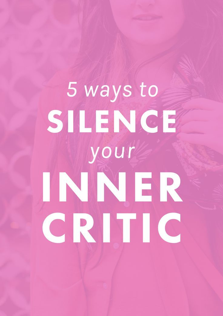 Boost Your Confidence: 5 Ways To Silence Your Inner Critic confidence boost, confidence quotes, becoming confident #confidence #confident