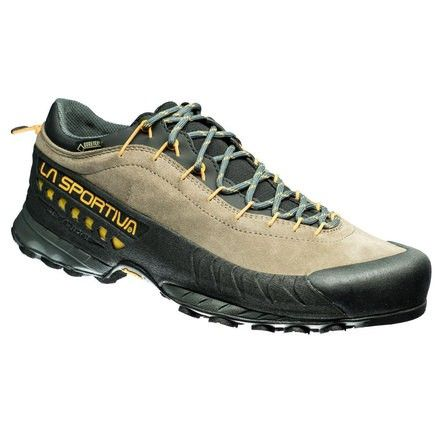 TX4 GTX: Leather shoe with Gore-Tex Extended Comfort designed for technical approach routes and via ferrata, part of the Traverse X approach series: ideal for prolonged use by mountain guides and all those who work in the mountains.