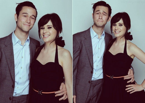 Joesph Gordon-Levitt and Zooey Deschanel. WHY AREN'T THEY MARRIED??