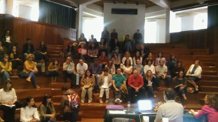 Apresentação da plataforma REDA à Escola Secundária Vitorino Nemésio e à Escola Básica Integrada da Praia da Vitória (6 de outubro de 2016).