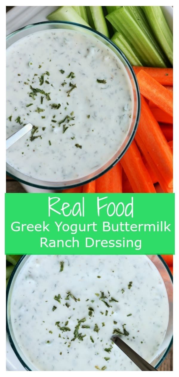 It Is So Easy To Make Your Own 100 Real Food Homemade Buttermilk Ranch Dressi Yogurt Ranch Dressing Buttermilk Ranch Dressing Recipe Buttermilk Ranch Dressing