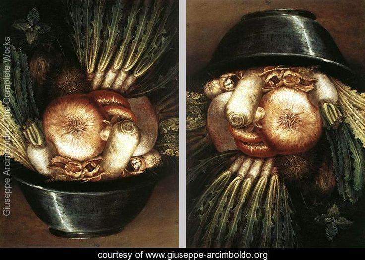 Vegetables In A Bowl Or The Gardener - Giuseppe Arcimboldo - www.giuseppe-arcimboldo.org