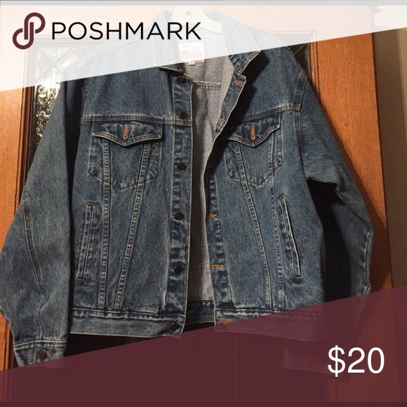 Men's Jean Jacket Real denim jacket for men. Thick and durable. Jackets & Coats