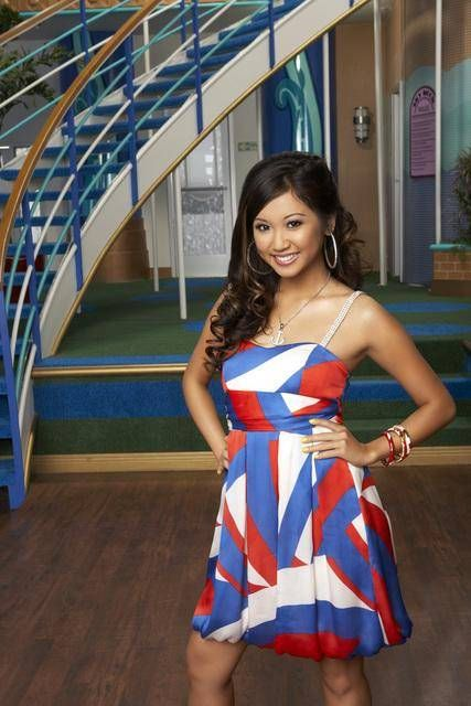 My favorite tv show character: London Tipton (Brenda Song) from Zack and Cody