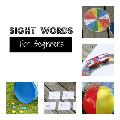 Free printable sight word checklist PLUS eight fun, hands-on games. {Playdough to Plato}
