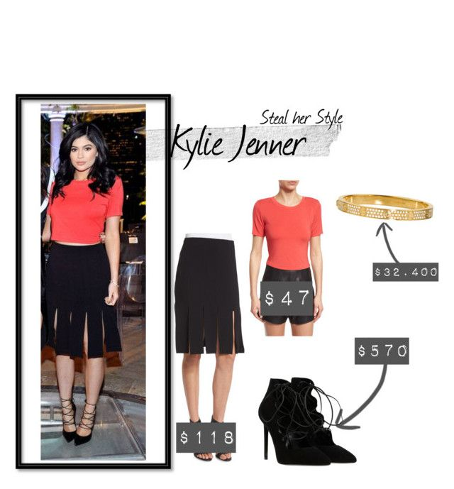 """""""Steal her Style   Kylie Jenner   All Exact   Launch Party"""" by kydajenner on Polyvore featuring mode, Kendall + Kylie en Cartier"""