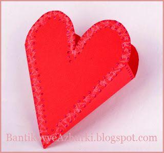 коробочка-сердце на день святого валентина