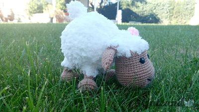 ¿Te gusta elaborar amigurumis? Con este patrón podrás elaborar esta graciosa ovejita.