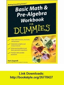 11 best library e book images on pinterest before i die behavior by zegarellis dummies basic math and pre algebra workbook for paperback fandeluxe Choice Image