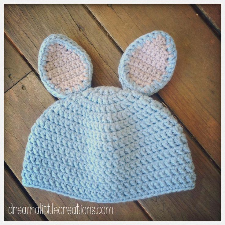Crocheted beanies with ears. Newborn size. For the Lads Market Night opens at 9pm, on Tuesday 3rd June, 2014. The first person to comment sold will be able to purchase the item direct from the business listed on the item.